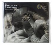 2013 50p Christoper Ironside Uncirculated Coin Pack Small Version
